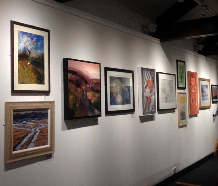 Part of Awakening Exhibition - Green Door Artists