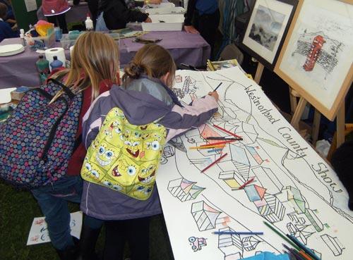 Green Door - Community Art at Westmorland County Show